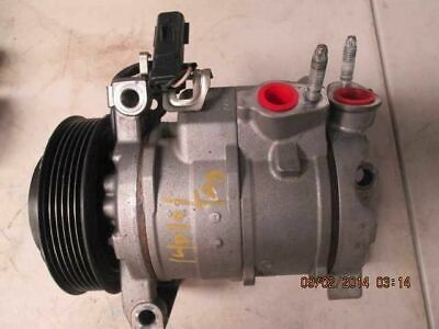 AC Compressor With Rear AC Fits 09-10 JOURNEY 184712