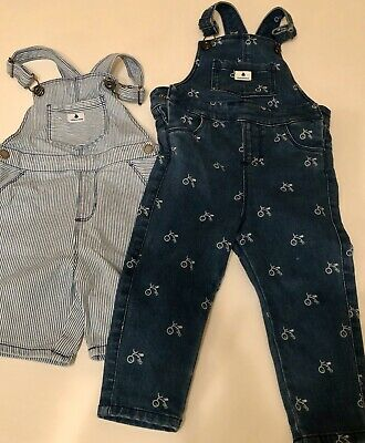 Country Road Baby Boys Overalls, 2 Pairs Size 18-24 Months