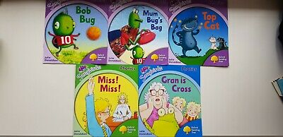Oxford Reading Tree Songbirds PHONICS reception home school 5 books stage 1+ 2 3