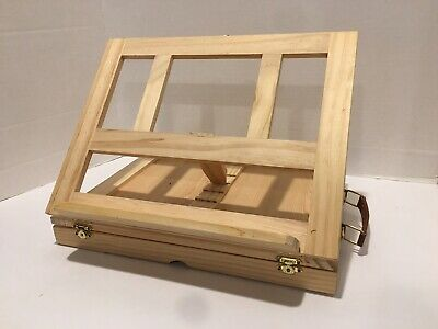 Portable Folding Art Artist Drawing Painting Easel Wooden With Drawer & Handle