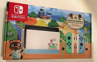 Nintendo Switch Animal Crossing New Horizons Edition Console *NEW*
