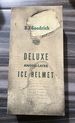 Vintage Deluxe Anode-Latex Ice Helmet from B.F. Goodrich