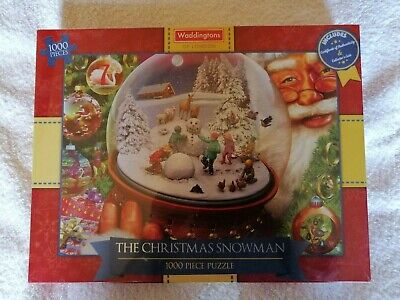 Brand new 1000 piece jigsaw puzzle: The Christmas Snowman