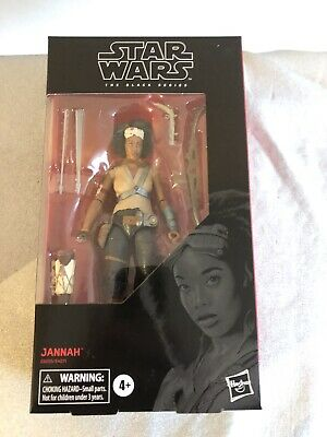 """The Black Series Star Wars Jannah Toy The Rise of Skywalker 6"""" Action Figure"""