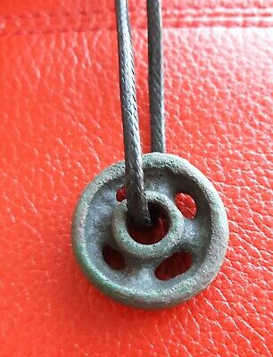 """Wheel of fortune"" ancient bronze amulet 4-2 ВС"
