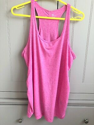 Pink Gap Maternity Sports Top. Size Large. Racer Back