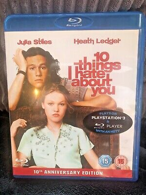 10 Things I Hate About You Blu Ray DVD Very Good Condition