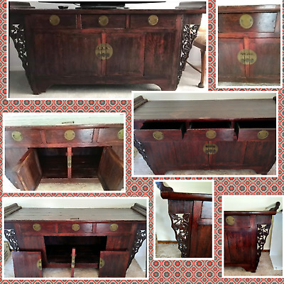 Antique Oriental / Asian / Chinese Cabinet