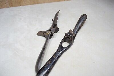 Antique Eward Preston 1386 Fillister 1388 Quirk Router  Woodworking Old Tool