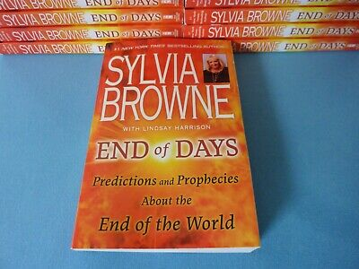 Sylvia Browne End Of Days Predictions and Prophecies Paperback 3 Day Delivery