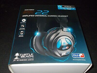 Turtle Beach Ear Force PX22 Universal Amplified Gaming Headset PC Xbox 360 PS3