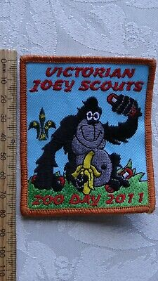 1 x 2011 VICTORIAN JOEY SCOUTS AUSTRALIA COLLECTABLE BADGE/PATCH