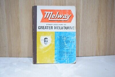 Vintage Melway Greater Melbourne Edition #6 1973