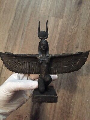 Egyptian Statue Isis (Goddess Of War) One of a kind find!