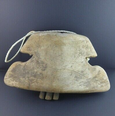 Cow Bell Antique wooden