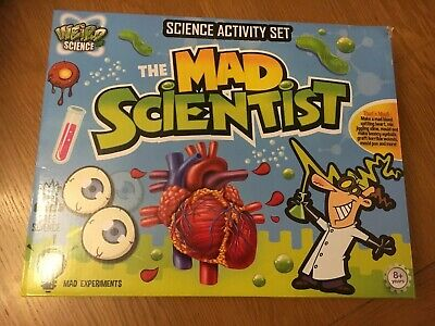 Grafix Weird Science The Mad Scientist Mega Science Activity Set