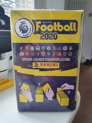 Panini Football Premier League 2020 stickers - Box of 100 packets sealed