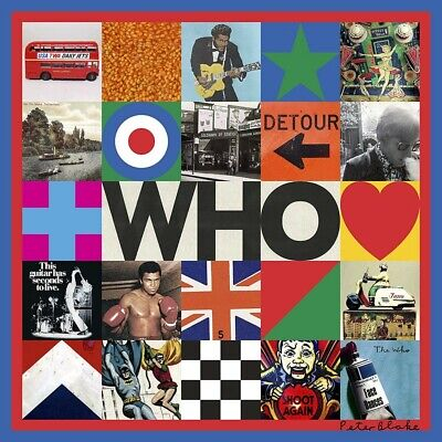 2019 SHM CD THE WHO WHO 1 BONUS TRACK FOR ONLY TOTAL 15TRACKS Album Rock