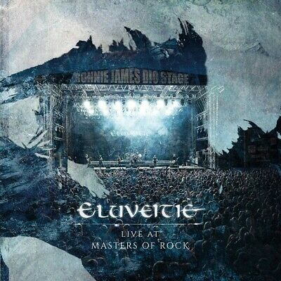 2019 ELUVEITIE Live At Masters Of Rock CD Album Rock Heavy Metal Jazz R&B