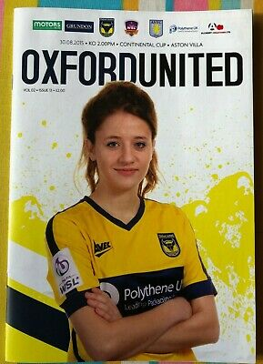 Oxford United Women v Aston Villa - WS Continental Cup - Played 30/08/2015