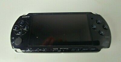 Sony Playstation Portable PSP 3001 Black Handheld Video Game System Tested!