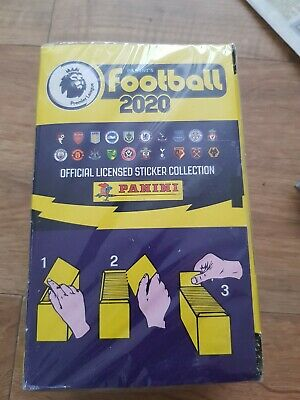 NEW & SEALED Panini Football 2020 full box premier league stickers 100 packs