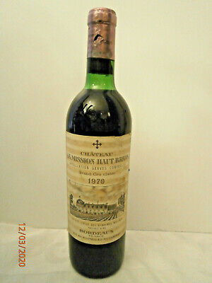 1970 Chateau La Mission Haut Brion Grand Cru Classé Pessac-Leognan Graves Bordea