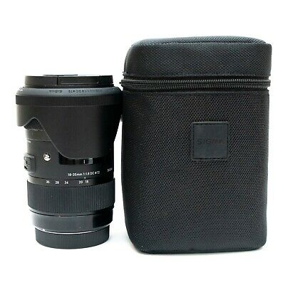MINT Sigma 18-35mm F/1.8 DC HSM ART Lens for Canon EF #210-101