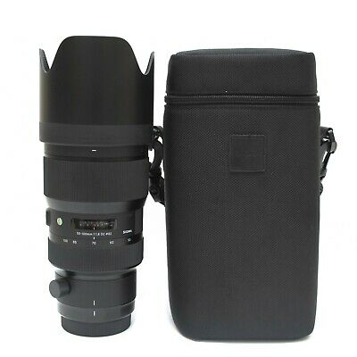 Sigma 50-100mm f/1.8 DC HSM Art Lens for Canon EF Mint- Perfect Condition