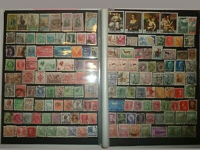 Stockbook containing 2100 World Stamps Collection