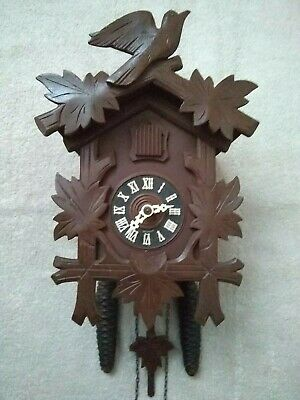 Fabulous Vintage 30 Hour Mechanical German Black Forest Cuckoo Clock