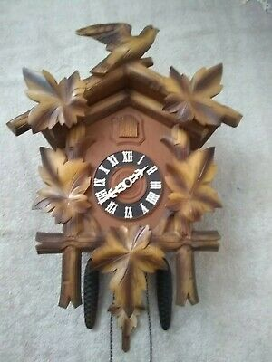 Cuckoo Clock Large Mechanical Hubert Herr Excellent Working Condition