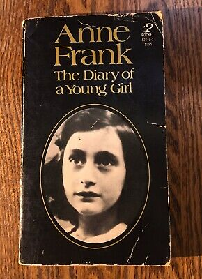 THE DIARY OF A YOUNG GIRL  by Anne Frank paperback CRUCIAL WWII DOCUMENT