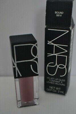 BNIB NARS Velvet Lip Glide Liquid lipstick in Bound travel size 2ml