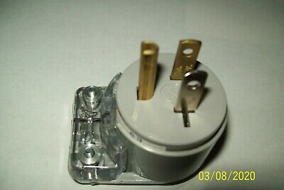 LEGRAND PASS & SEYMOUR 15A -125Volt Industrial Grade Angle Plugs