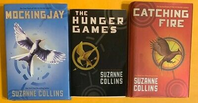 HUNGER GAMES Trilogy 3 Book Mixed Set Complete Series Suzanne Collins HB PB