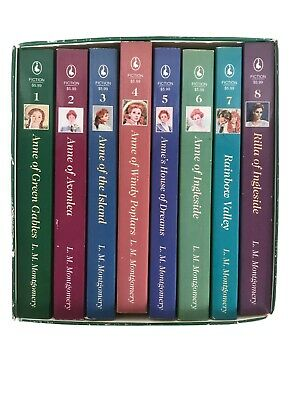 Anne of Green Gables Complete Set of 8 Books by LM Montgomery