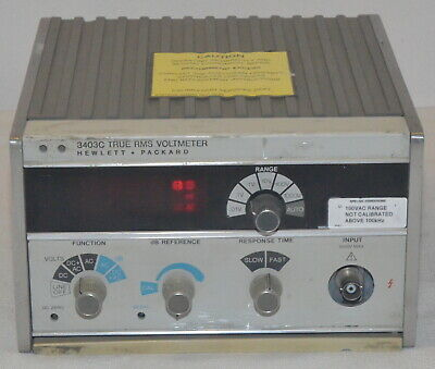 Hewlett Packard 3403C True RMS Voltmeter *Used* HP