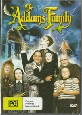 The Adams Addams Family DVD Anjelica Huston New and Sealed Plays Worldwide
