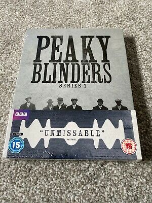Limited Edition Peaky Blinders Series 1 (Zavvi Exclusive) Steelbook Blu-ray DVD