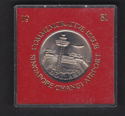 Singapore, 1981 silver $5 commemorative coin