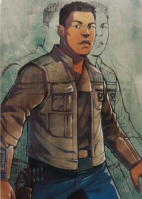 2019 Star Wars Journey to The Rise of Skywalker ILLUSTRATED CHARACTER Card IC-7