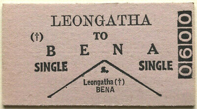 VR Ticket - LEONGATHA to BENA - One Class Single