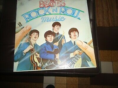 THE BEATLES - Rock'n'roll Music 33 TOURS  DEUX VINYLS 1976