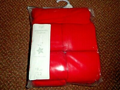 5 Pack Girls Supersoft Cotton Rich red school Tights 11-12 years - bnwt