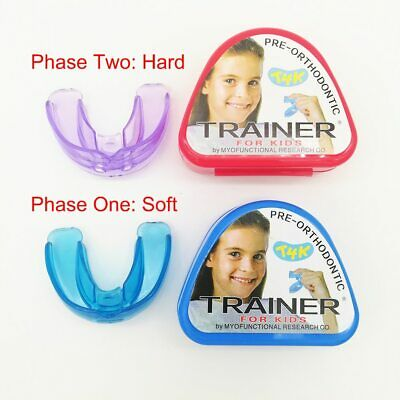Dental Teeth Trainer Practical Support Orthodontic  Aligner Kid Children Size