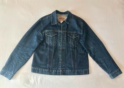New Gap Mens Denim Jean Jacket Size Xl