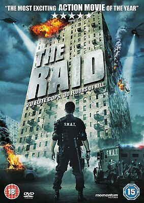 The Raid (DVD, 2012) one of the greatest action movies of the last 20 years