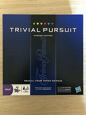 Trivial Pursuit Master Edition Family Board Game Complete