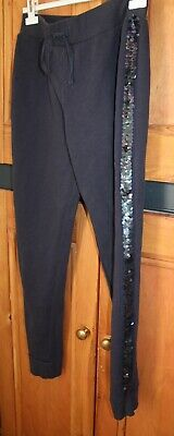 Girls Age 14 or Ladies UK 8 - 10 Next Loungewear Jogging Trousers with Sequins